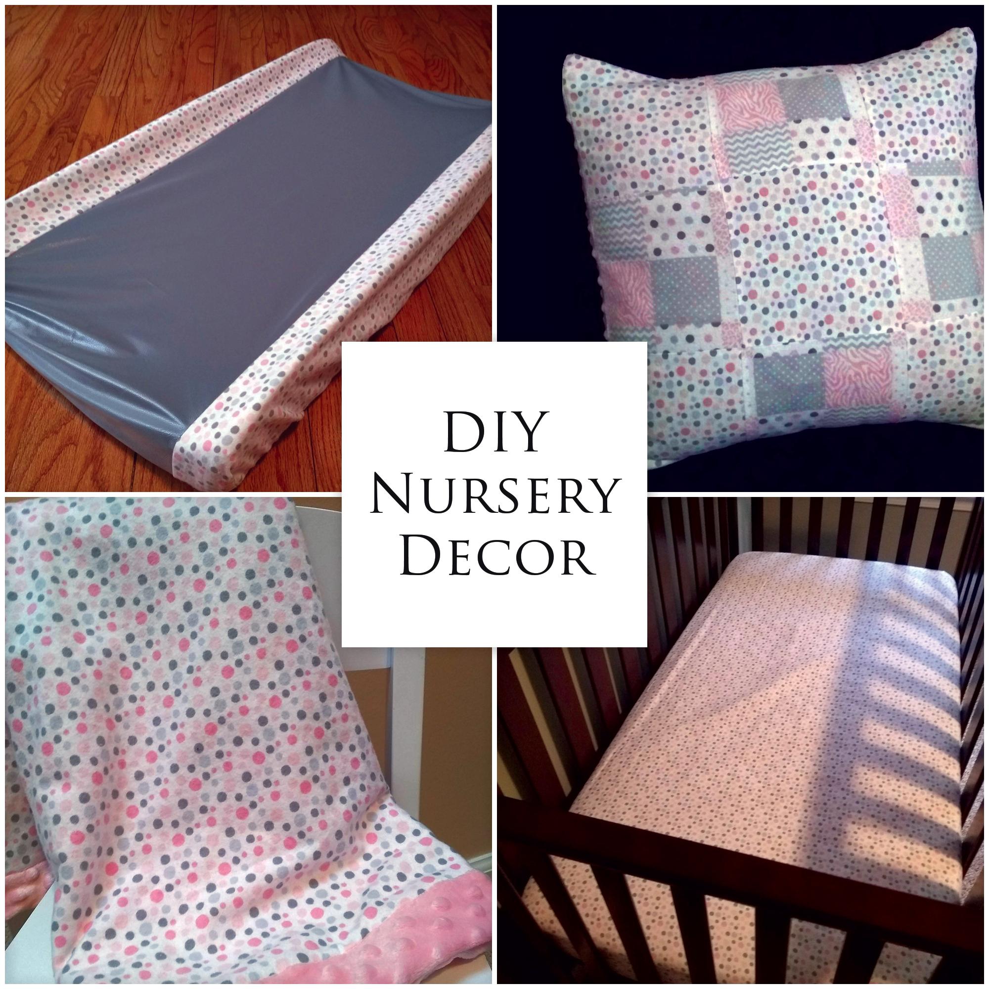 Diy Nursery Decor From Start To Finish K Krafts